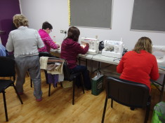 Adult Education Sewing Classes at Obair