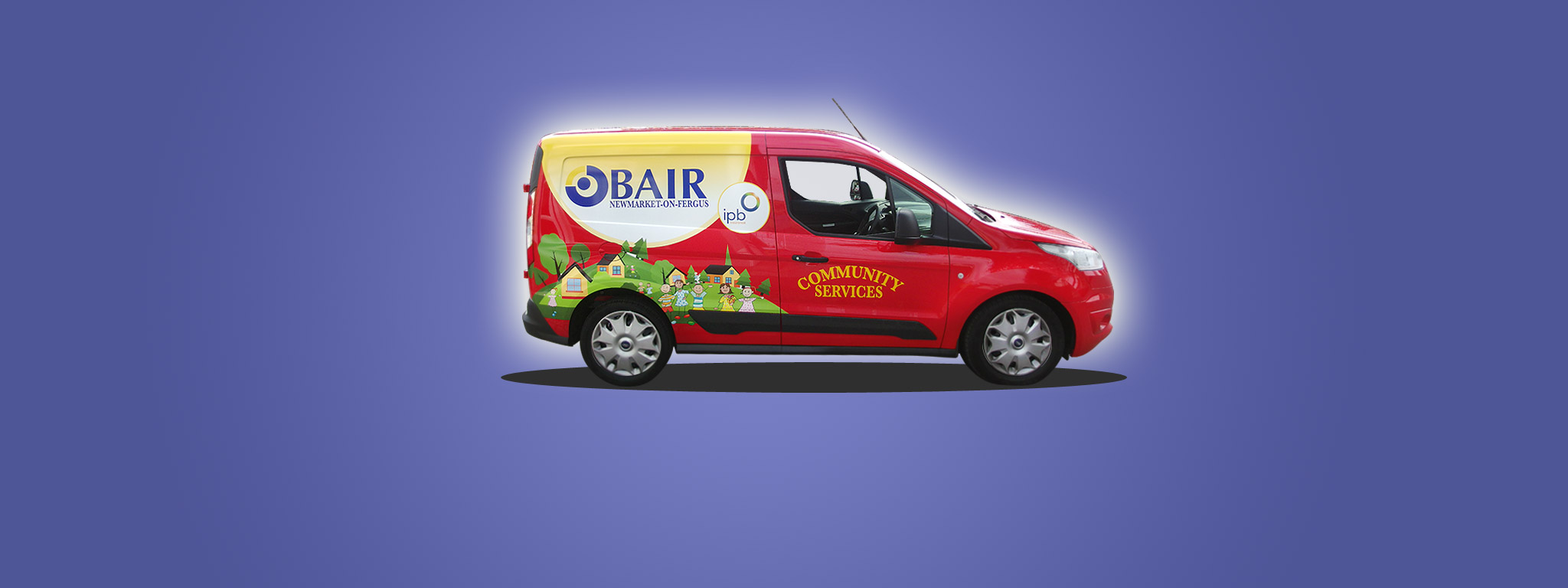 Community catering has a brand new van