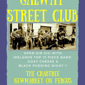 Galway Street Club Poster 210717