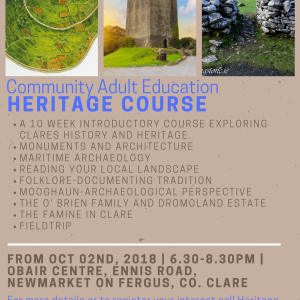 Heritage Course Updated